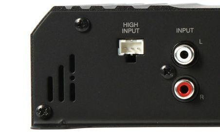 High Level Inputs on Amp